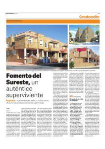 Reportaje en La voz de Almería-Fomento-18-12-2014