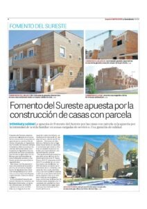 La voz de Almería, Fomento apuesta por la construccion, 04-06-15