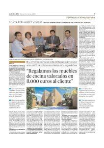 entrevista Silvia en El diario de Almería, 10-12-2014